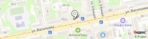 Отличные наличные на карте Бийска
