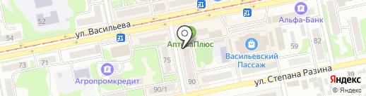 Билайн на карте Бийска