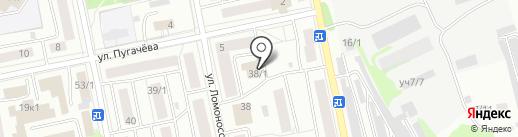Бийская служба спасения на карте Бийска