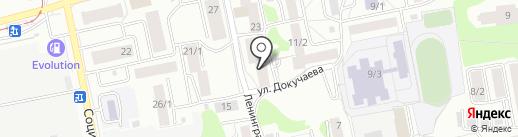 Маяк на карте Бийска
