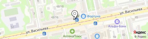 Доброденьги на карте Бийска