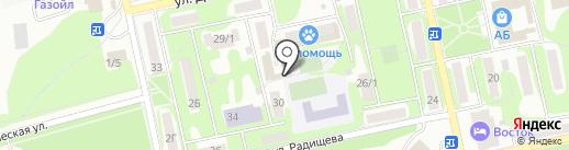 КАРТОН на карте Бийска