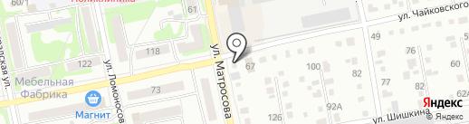 Торговая фирма на карте Бийска