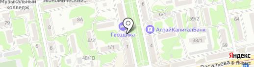 Милицейский клуб г. Бийска на карте Бийска