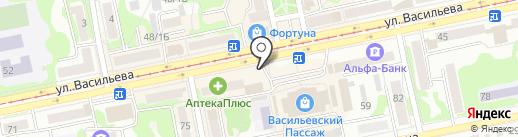 Чайхана на карте Бийска