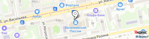 Салон штор на карте Бийска