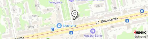 АС Финанс на карте Бийска