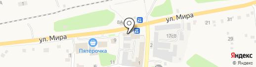 Бензомир на карте Богашёво