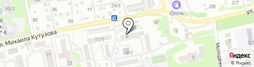 Радуга, ТСЖ на карте Бийска