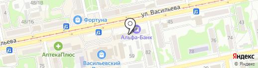 Мини-типография на карте Бийска