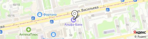 Банкомат, Россельхозбанк на карте Бийска