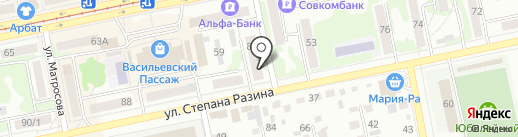 Рыболов-Спортсмен на карте Бийска