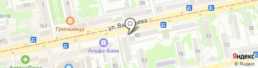 Росгосстрах банк, ПАО на карте Бийска