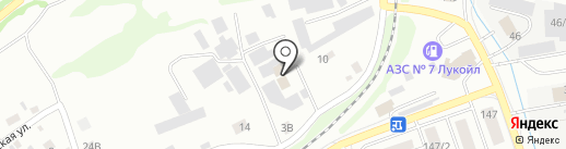 Ангар18 на карте Бийска