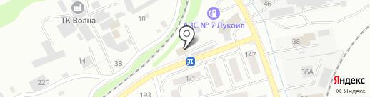 Компания по предоставлению услуг манипулятора на карте Бийска