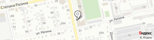 Юридическая компания на карте Бийска