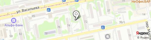 Центр особых проблем на карте Бийска
