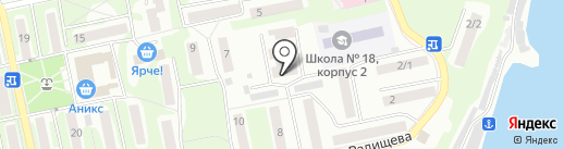 Светлый путь, ТСЖ на карте Бийска