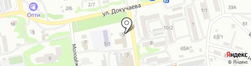 Клуб №1 на карте Бийска