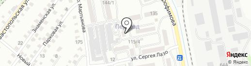 Почтовое отделение №19 на карте Бийска