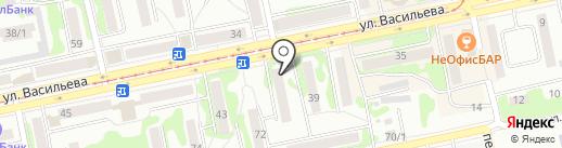 Флирт на карте Бийска