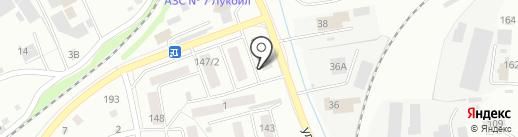 Мир на карте Бийска