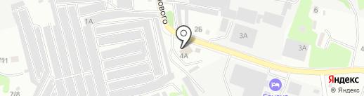 Гранд Сити на карте Бийска