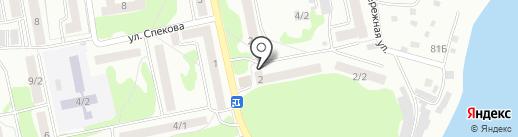 Луч, ТСЖ на карте Бийска