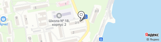 Галд на карте Бийска