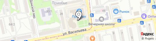 Сессия на 5 на карте Бийска