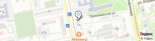 ВП на карте Бийска