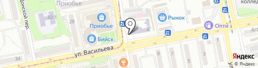 Импокар Плюс на карте Бийска