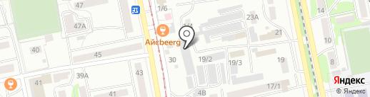 Oliser-Мебель на карте Бийска
