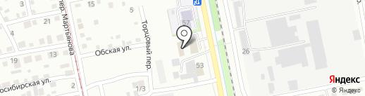 Интерстрой на карте Бийска
