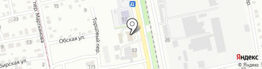 УниверсаЛь на карте Бийска
