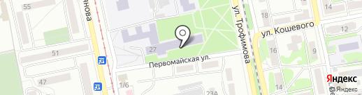 Бийский технологический институт на карте Бийска
