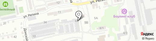 Автолекарь на карте Бийска