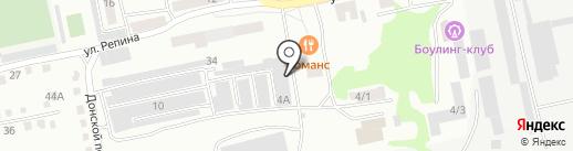 Установочный центр на карте Бийска