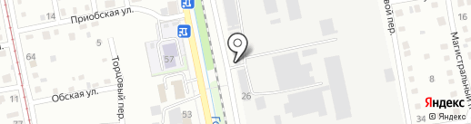 Банкомат, Промсвязьбанк, ПАО на карте Бийска