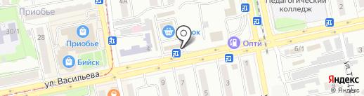 FooD Экспресс на карте Бийска