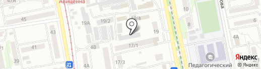 Камстрой плюс на карте Бийска