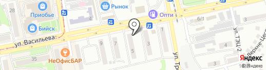 Престиж на карте Бийска
