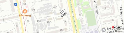 Сервис на карте Бийска