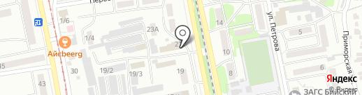 От винта на карте Бийска