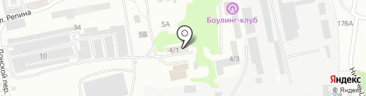 Промавтоматика на карте Бийска