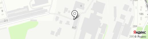 Солнечный на карте Бийска