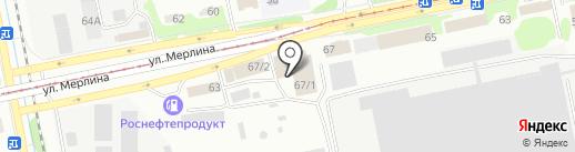 Хозмикс на карте Бийска