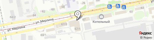 АДЕС на карте Бийска