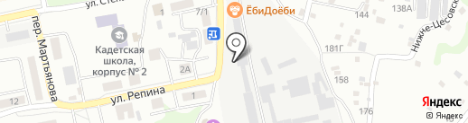 Мендельсон на карте Бийска