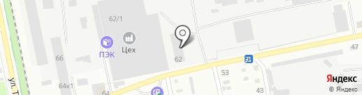 Бийский котельный завод на карте Бийска